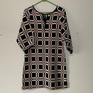 Ace&Jig tunic dress in black Geo
